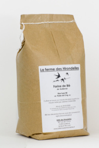 Les jardins de la Marette - Farine Bio 80