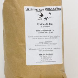 Les jardins de la Marette - Farine Bio 110